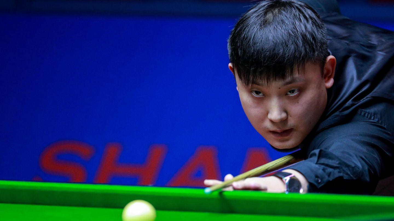 Der Snooker-Profi Yu Delu