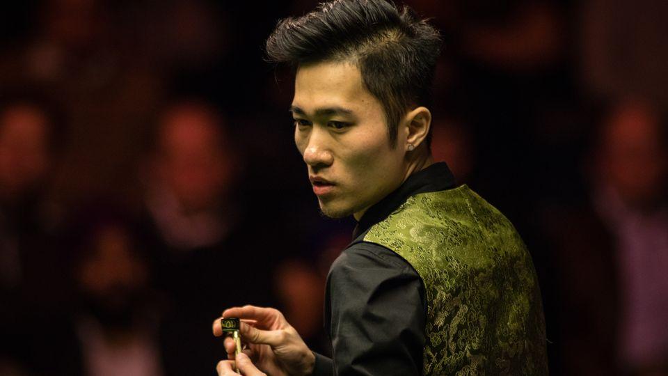 Der Snooker-Profi Cao Yupeng