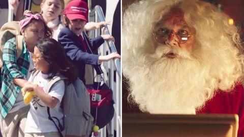 Air New Zealand Werbespot: Weihnachtsmann schickt versehentlich Email an die unartigsten Kinder der Welt