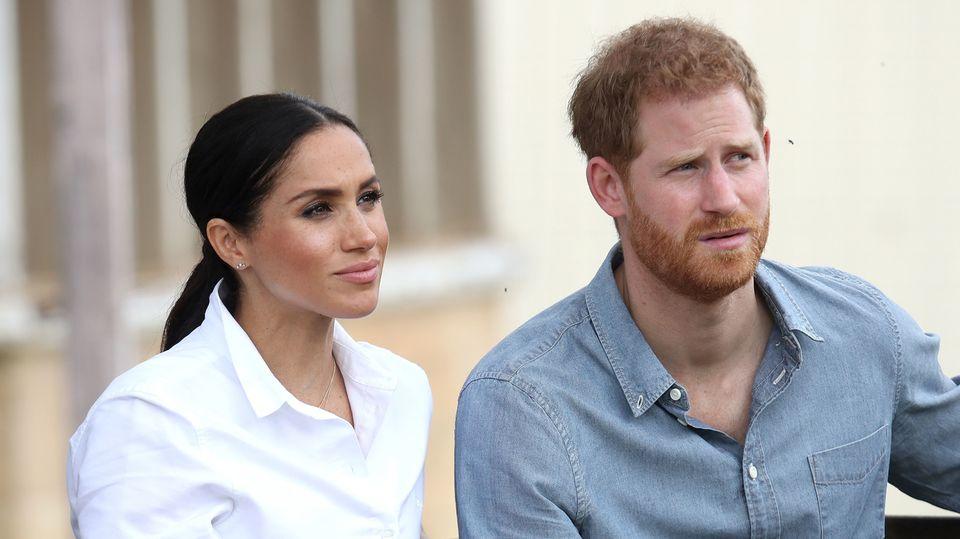 Prinz Harry und Herzogin Meghan im Oktober in Australien