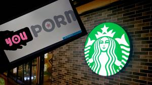 Youporn im Clinch mit Starbucks