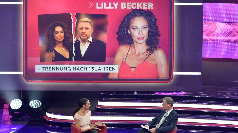 Günther Jauch und Lilly Becker bei Menschen Bilder Emotionen 2018