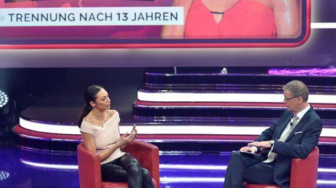 Lilly Becker und Günther Jauch