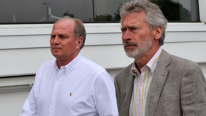 Hoeneß und Breitner 2009