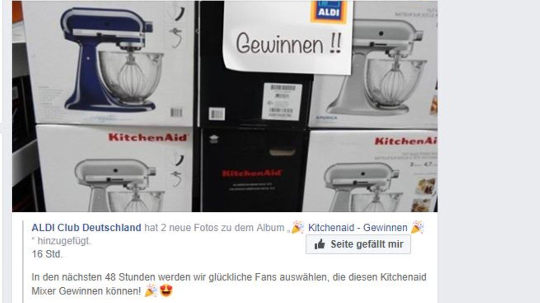 Fake-Gewinnspiel auf Facebook