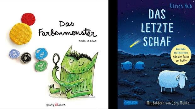 Zwei Bücher-Cover