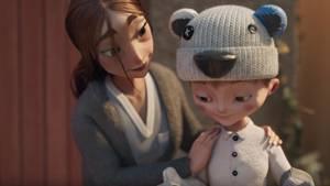 Penny Weihnachtswerbung: Eine alleinerziehende Mutter erfüllt den Herzenswunsch ihres Sohnes