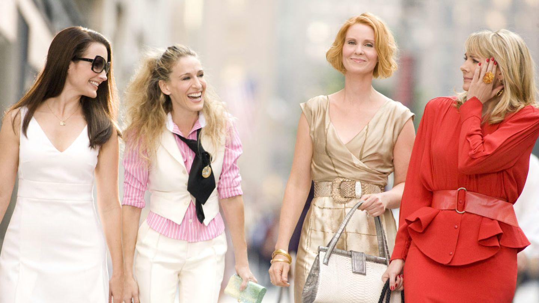 """Charlotte, Carrie, Miranda und Samatha: Die """"Sex and the City""""-Stars gibt es nun schon seit 20 Jahren"""