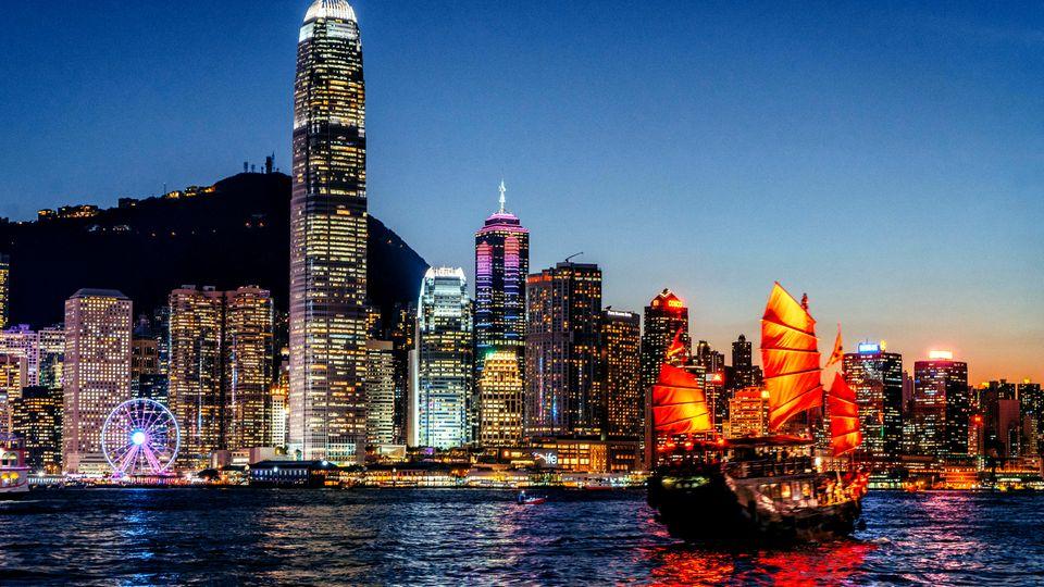 Hongkong  ist die meistbesuchte Stadt