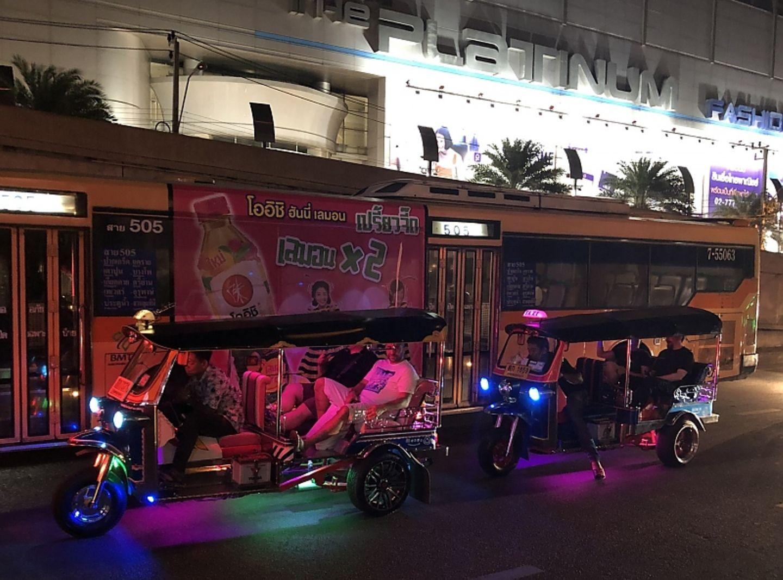 Auf den Straßen von Bangkok 2018