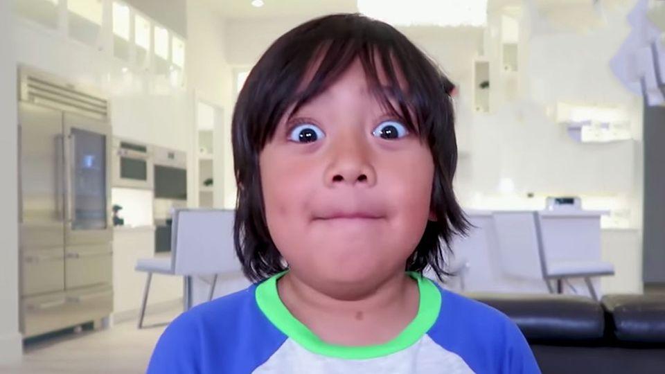 """""""Forbes""""-Liste: Dieser Achtjährige ist der bestbezahlte Youtube-Star der Welt"""