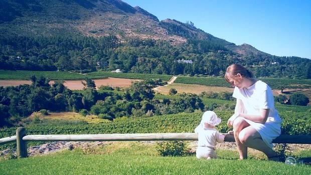 Stationen einer Südafrika-Reise: auf dem Weingut Constantia Glen