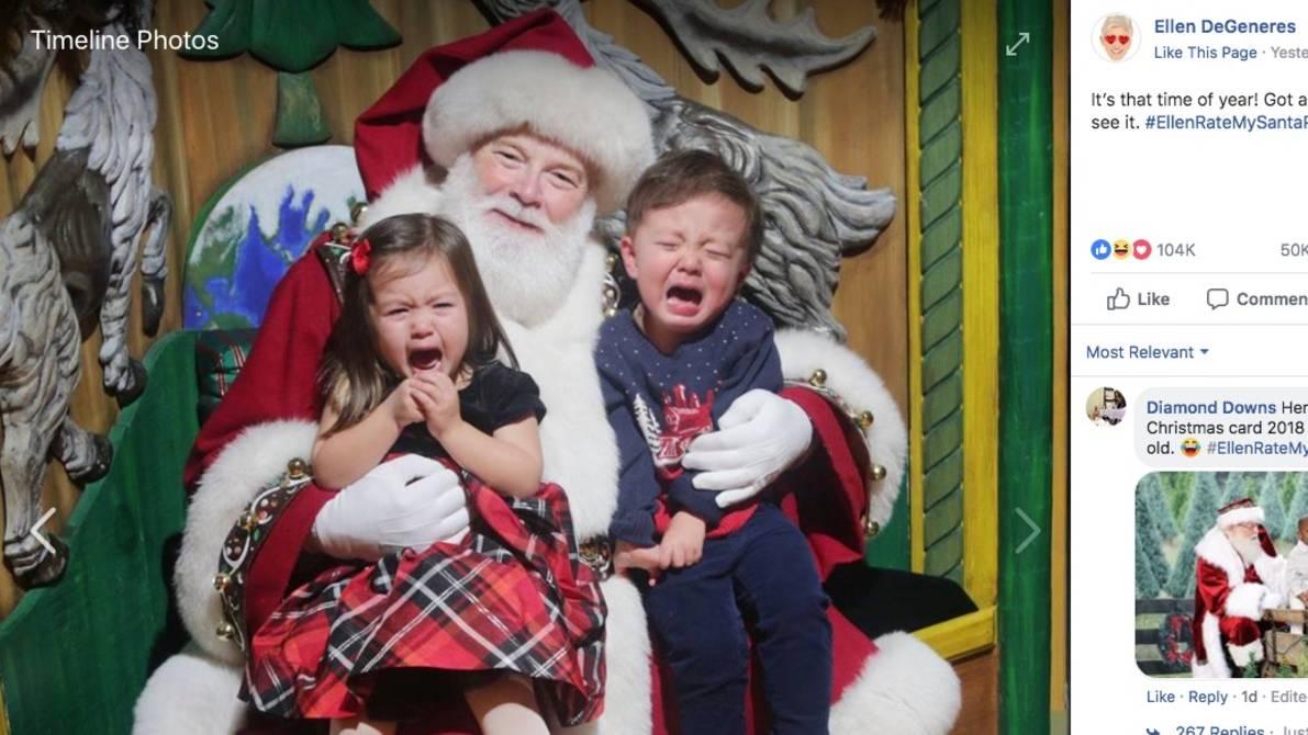 Weihnachtsbilder Facebook Posten.Ellen Degeneres Ruft Eltern Zum Posten Von Weihnachtsbildern Auf Neon