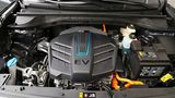 Der Elektromotor leistet entweder 100 kW / 136 PS oder 150 kW / 204 PS