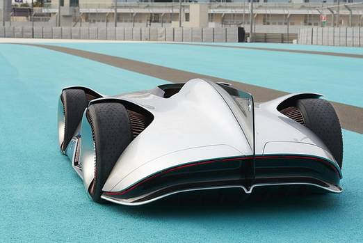 Mercedes Vision EQ Silver Arrow