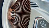 Jede Felge des Mercedes Vision EQ Silver Arrow hat 168 Speichen