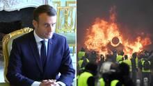 Gelbwesten-Proteste: Macron lenkt ein – Frankreichs Regierung kippt Erhöhung der Ökosteuer
