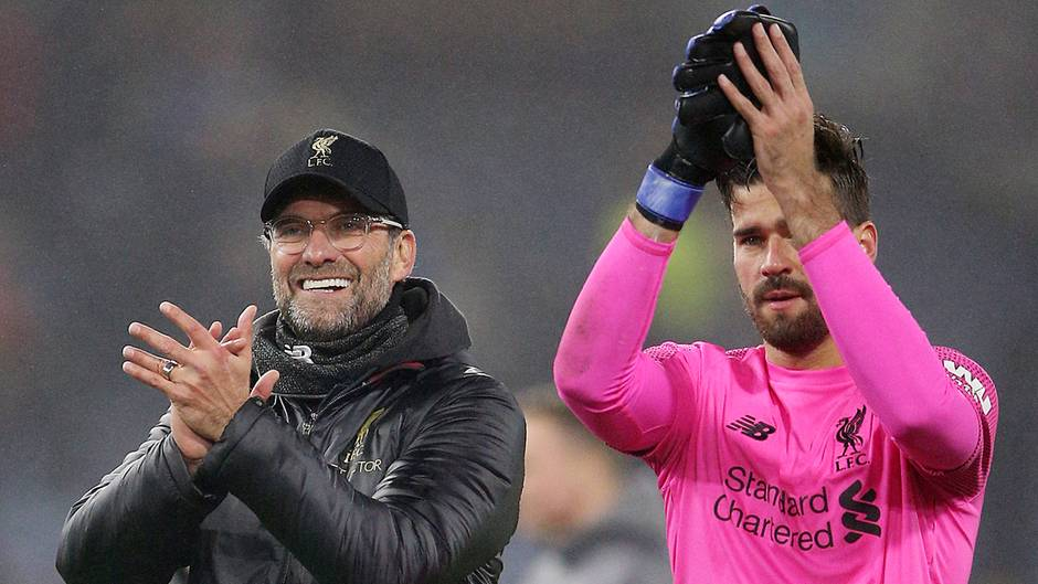 Der FC Liverpool gewinnt gegen Burnley