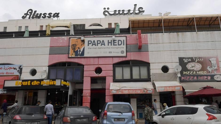 Straße in Tunis