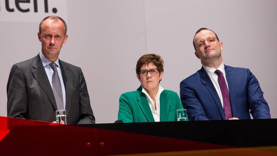 CDU-Parteitag: Die Kandidaten im Schnellcheck