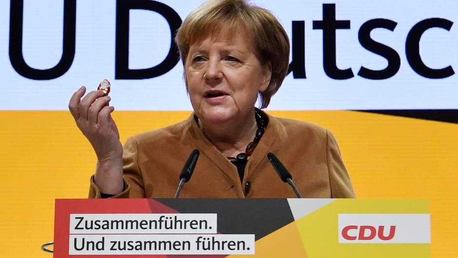 Angela Merkel hat heute ihren letzten Tag als Parteichefin der CDU