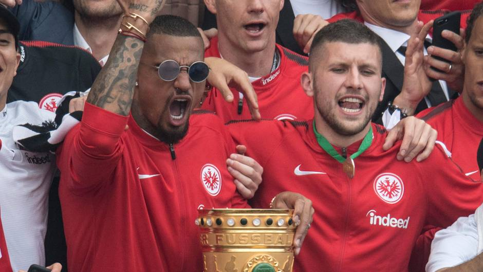 Kevin Prince Boateng und Ante Rebic