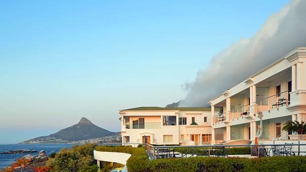 The Twelve-Apostles-Hotel liegt südlich von Kapstadt unterhalb der gleichnamigen Berge