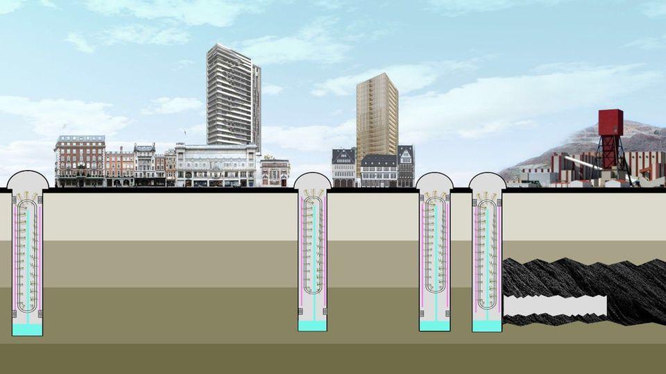 Unterirdisch ist der Anbau auch in Städten möglich.