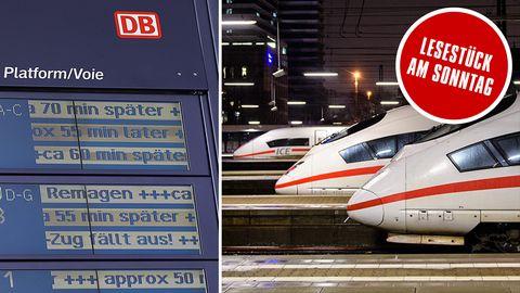 """Deutsche Bahn: """"Wir müssen zurück zur alten Eisenbahn."""""""