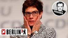 Annnegret Kramp-Karrenbauer: Reden halten kann sie - mit ihrer Art überzeugte sie die letzten Unentschlossenen