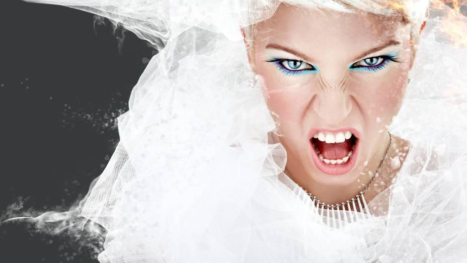 Das Hochzeitsmotto kann zu Aggressionen führen – bei der Braut und bei den Gästen