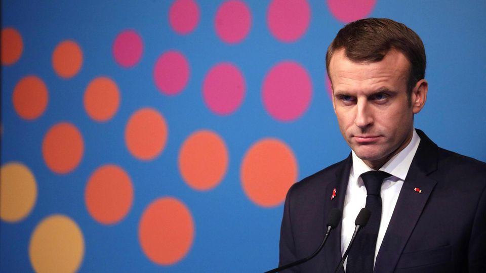 """""""Gelbwesten""""-Proteste: Französischer Präsident Macron hält Montagabend Rede an die Nation"""