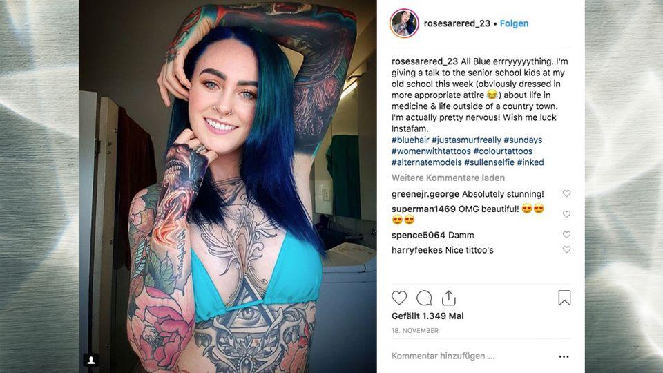 """Dr. Sarah Gray: Die """"meist tätowierte Ärztin der Welt"""" erzählt von Diskriminierung wegen ihrer Tattoos"""