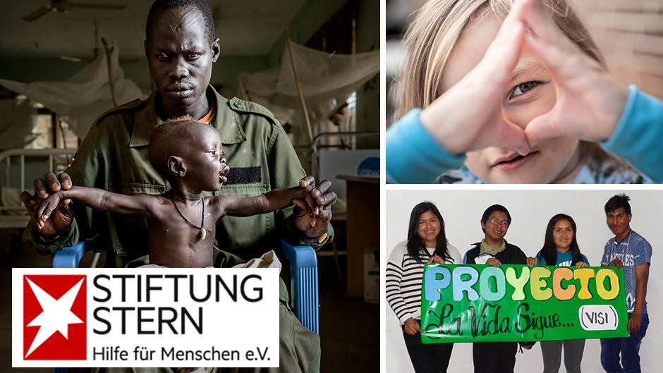Die Stiftung stern unterstützt zahlreiche Initiativen im In- und Ausland - dank Ihrer Spenden