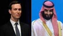 Trumps Schwiegersohn und Berater Jared Kushner soll mit dem saudischen Kronprinzen Mohammed bin Salman informelle Verbindungen unterhalten