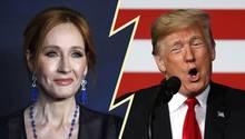 """""""Harry Potter""""-Autorin J.K. Rowling gegen Trump"""