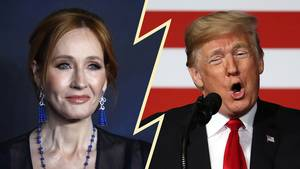"""Harry Potter""-Autorin J.K. Rowling gegen Trump"