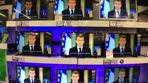 Macron auf allen Kanälen mit seiner Rede an die Nation