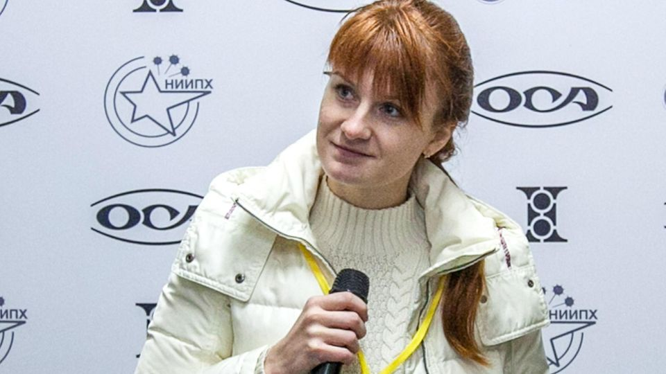 Maria Butina - Russin in den USA - will illegale Infiltration gestehen