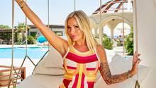 """Gina-Lisa Lohfink auf der Yacht in der TV-Show """"Adam sucht Eva"""""""