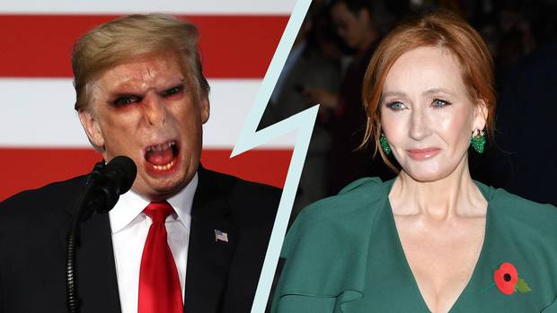 J.K. Rowling gegen Donald Trump