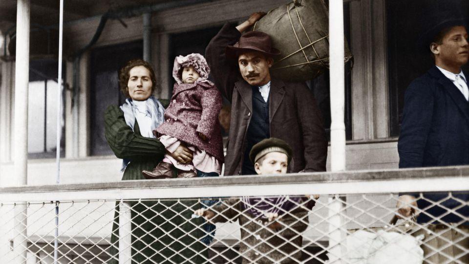 Einwanderer in New York