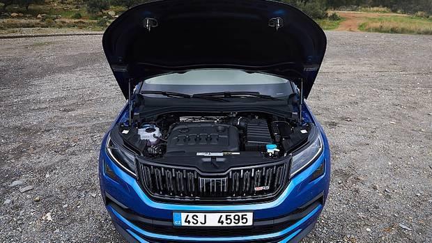 Im Skoda Kodiaq RS arbeitet ein Zweiliter-Turbodiesel