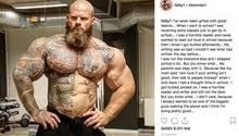 Der dänische Bodybuilder Søren Falby