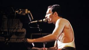 Freddie Mercury Konzert Flügel