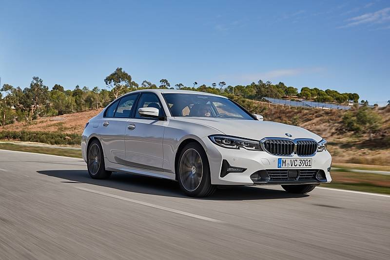 BMW 320d der Baureihe G20 / 2019 - 240 km/h schnell