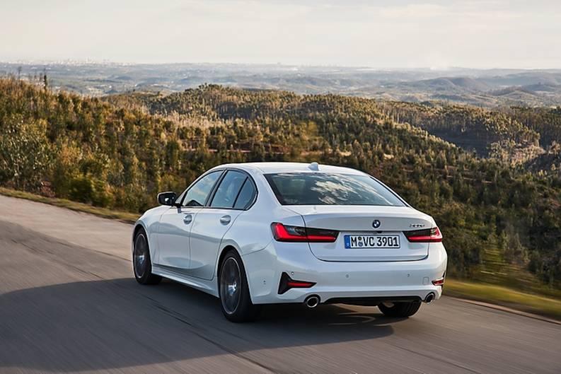 BMW 320d der Baureihe G20 / 2019 - 7,5 cm kürzer