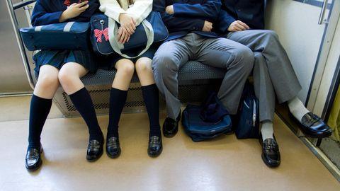 Manspreading in der U-Bahn