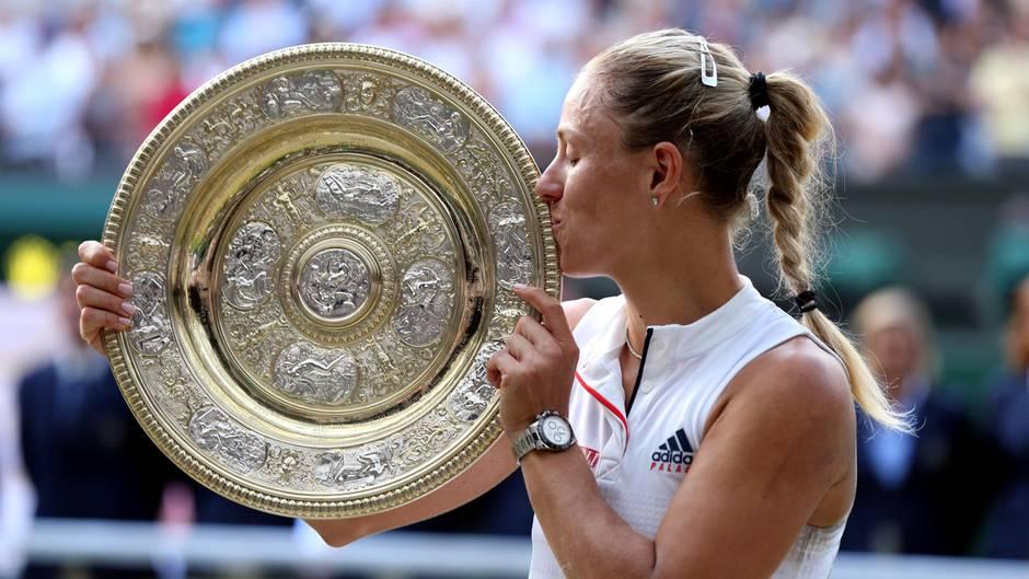 Angelique Kerber: 2016 gewann Angelique Kerber die Australian und die US Open, 2017 hatte sie ein gewaltiges Tief - und krönt das starke Comeback dieses Jahr mit dem Sieg in Wimbledon. 22 Jahre nach Steffi Graf gewinnt wieder eine Deutsche das wichtigste Tennisturnier der Welt. Und Kerber beweist ihr Format als echte Gewinnerin.