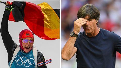 Siege und Niederlagen 2018: Zwischen Triumph und Tränen: Das sind die deutschen Gewinner und Verlierer im Sport